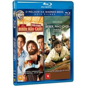 Blu-Ray - Se Beber, Não Case! + Se Beber, Não Case 2 (Duplo) - R$5