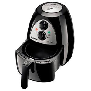 Fritadeira Air Fryer Mondial AF-03 – Preta por R$ 300