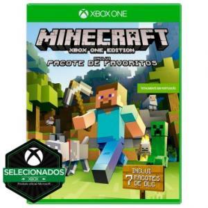 Jogo Minecraft: Edição Favorite Packs para Xbox One (XONE) - Microsoft