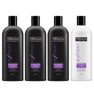 R$ 29,90 = 3 Shampoos 400ml + 1 Condicionador Tresemé