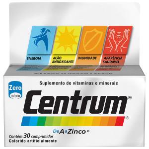Centrum com 30 comprimidos Pfizer - 2 caixas - R$64