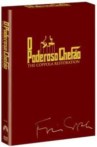 DVD Coleção Trilogia o Poderoso Chefão - The Coppola Restoration - 3 Discos - R$20