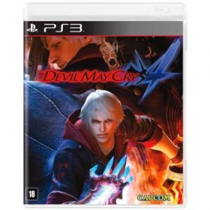 Jogo Devil May Cry 4 para Playstation 3 (PS3) - R$20