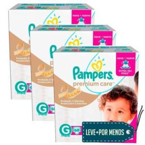 [Masterpass] Fralda Pampers Premium Care a partir de 67 centavos a tira