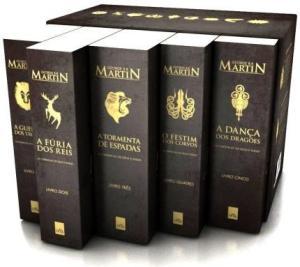Box – As Crônicas de Gelo e Fogo – Pocket – Edição de Colecionador – 5 Volumes - R$47