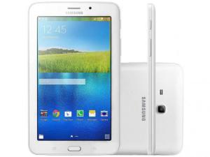 """Tablet Samsung Galaxy Tab E 8GB 7"""" Wi-Fi - Android 4.4 Proc. Quad Core por R$ 400"""