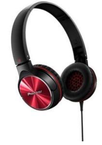 Fone de ouvido Pioneer Vermelho P2 SE-MJ532-R - R$ 220