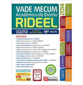 Vade Mecum - Acadêmico De Direito - 2º Semestre - 2014 R$ 20