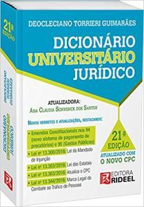 Dicionário Universitário Jurídico Torrieri por R$14,90