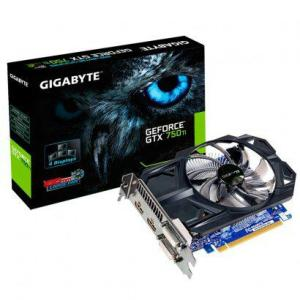 Placa de Vídeo Gigabyte GeForce GTX 750Ti 2GB 128 Bits GDDR5 GV-N75TD5-2GI R$420