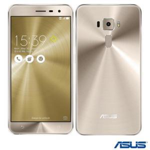 Zenfone 3 64 GB tela 5,5 Preto e Dourado - R$1289