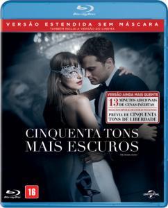 Cinquenta Tons Mais Escuros - Blu-Ray - R$25