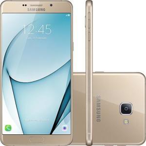 Smartphone Samsung Galaxy A9 Dual Chip  32GB 4G Câmera 16MP - Dourado - R$1360