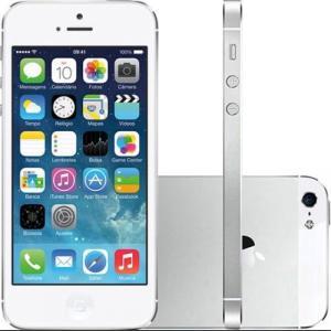 iPhone 5S 16GB ou 32GB Cinza Espacial, Dourado ou Prata Desbloqueado Wi-Fi Câmera 8MP - Apple. Grátis Película! Produto Vitrine. Em até 12x