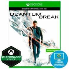 Jogo Xbox One Quantum Break Remedy Games por R$ 50