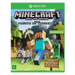 Jogo para Xbox One Minecraft Edição Favorite Packs Microsoft R$ 30