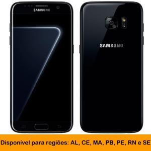 [AL,CE,MA,PB,PE,RN,SE] Smartphone Samsung Galaxy S7 Edge, Black Piano, 12MP, 128GB - R$2088