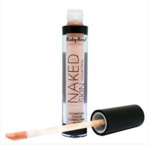 Corretivo Líquido Naked Skin Ruby Rose - R$10