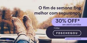 [BH] Cabify - 30% de desconto no fim de semana