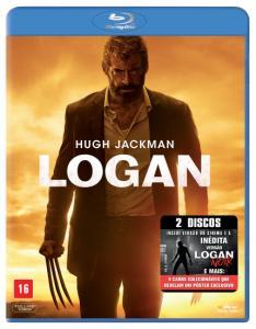Blu-Ray Logan - 2 Discos + Brinde (cards do filme) - R$ 35