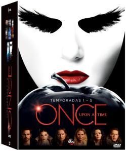 DVD Once Upon A Time – 1ª à 5ª Temporada - 25 Discos - R$ 80