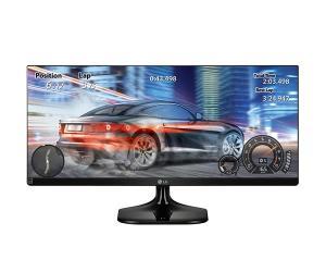 MONITOR LG 25 POLEGADAS FULL HD 2560 X 1080 21:9 ULTRAWIDE, 25UM58-P 0 R$ 739