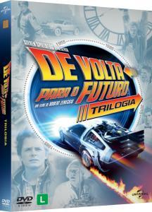 DVD de Volta Para o Futuro - Trilogia - 30º Aniversário - 3 Discos - R$ 20