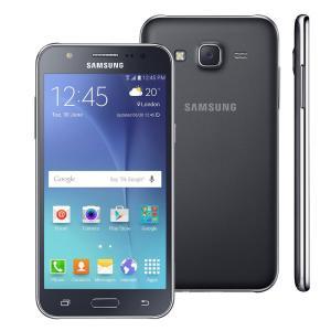 Samsung Galaxy J5 Duos Preto com Dual chip R$ 597,52 no boleto ou 1x no cartão