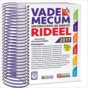 Vade Mecum Universitário de Direito Rideel 2017 Espiral - R$84,90