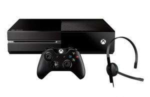 Console Microsoft Xbox One 500GB com 1 Controle Wireless, Headset e Cabo HDMI 110V por R$ 821