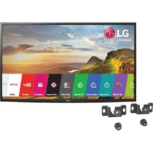 "Smart TV LG LED 43"" 43LH5600 Full HD Painel IPS 2 HDMI 1 USB 60Hz + Suporte Universal Fixo Para Tv De 14 A 84"" Uni100 Línea - CUPOM ( TVSALDAO10 )"