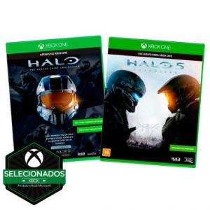 MEGA PROMOÇÃO - XBOX ONE - Combo Halo - Jogos Halo: Master Chief Collection + Halo 5: Guardians R$ 80,00