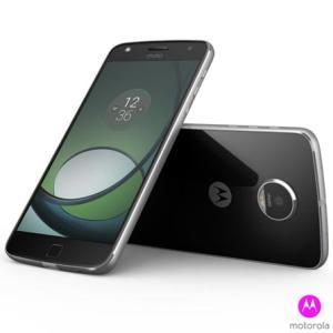 """Moto Z™ Play Power Edition Preto com Prata Motorola, com Tela de 5,5"""", 4G, 32GB por R$ 1333"""