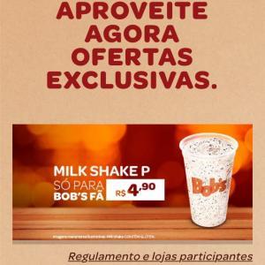 Milk shake bob's promoção