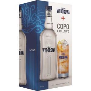 [Cart. Americanas] Vodka Wyborowa 1000 ml - Kit com Garrafa + Copo por R$ 50