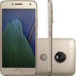 "Smartphone Moto G 5 Plus Dual Chip Android 7.0 Tela 5.2"" 32GB 4G Câmera 12MP - Ouro - R$989"