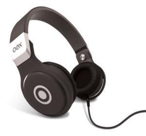 Fone de Ouvido Oex Headphone Groove Preto Hp102 - R$36