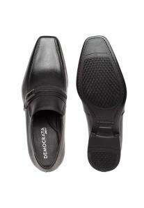 [DAFITI] Sapato Social Democrata Clean Preto por R$ 169
