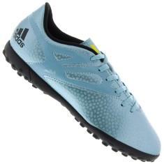 Chuteira Society Masculina Adidas Messi 15.4 TF - Azul
