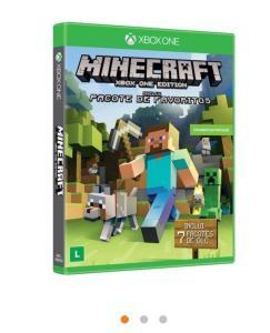 Jogo para Xbox One Minecraft Edição Favorite Packs Microsoft - R$30