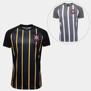 Kit Corinthians - Camisa Gold + Camisa Retrô