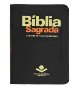 Bíblia Sagrada - Almeida Revista e Atualizada - Edição de Bolso - Capa Preta