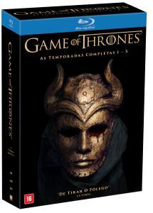 Blu-Ray Box Game Of Thrones - 1ª A 5ª Temporada - 25 Discos - R$200