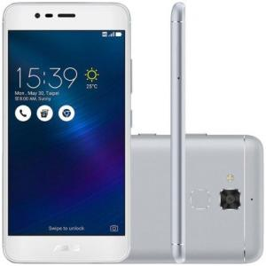 "Smartphone Asus Zenfone 3 Max 5.2"" 16GB ZC520TL Desbloqueado Prata por R$ 700"