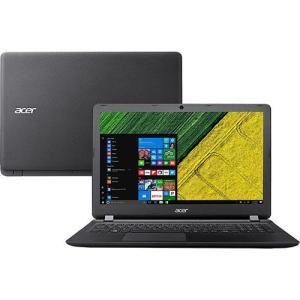 "Notebook Acer ES1-572-51NJ Intel Core 7 I5 4GB 1TB LED 15.6"" Windows 10 - Preto por R$ 1800"