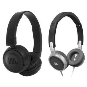 Fones de Ouvido JBL Headphone T450BT Bluetooth + T300A P2  cor preta - R$289