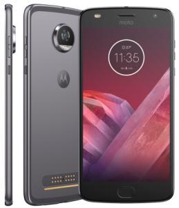 Smartphone Motorola Moto Z2 Play 5,5 Android™ 7.1.1 Nougat Câm 12Mp 64Gb R$1.583