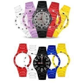 Relógio de Pulso Rubys Troca Pulseiras com 5 Pulseiras - R$49,99