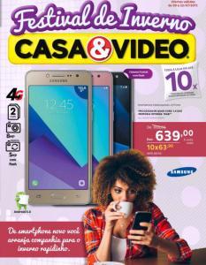 Smartphone Samsung Galaxy J2 Prime - R$ 639