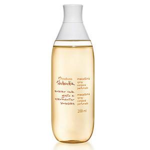 Desodorante Colônia Spray Corporal Perfumado Macadâmia Tododia - 200ml de R$ 55,90 por R$ 39,20